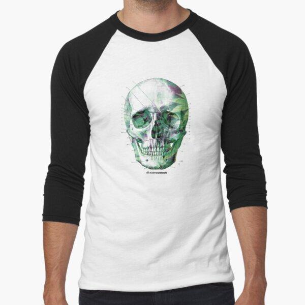 Pot Head Baseball ¾ Sleeve T-Shirt