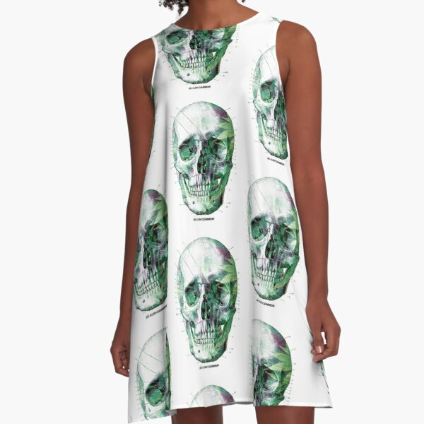 Pot Head A-Line Dress