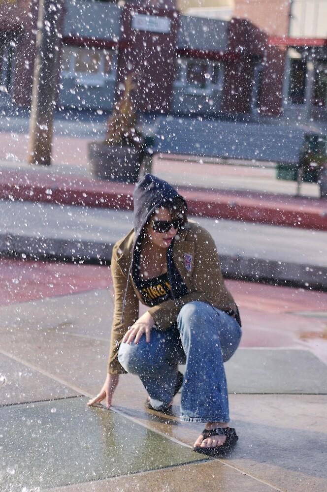 Girl in Fountain by Seresen