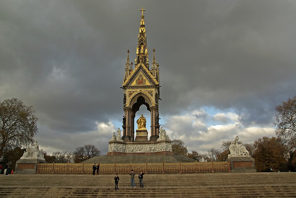 Albert Memorial, Hyde Park  by ludek