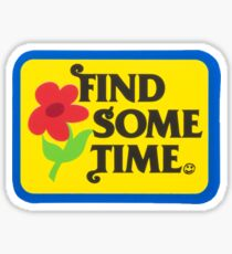 find some time tyler the creator golf wang Sticker