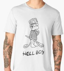 HELL BOY- lil peep Men's Premium T-Shirt