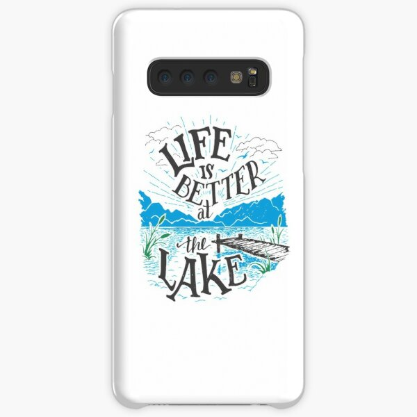 Life is Better at the Lake Samsung Galaxy Snap Case