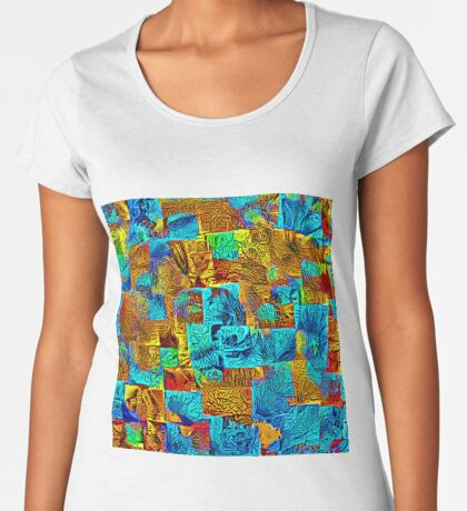 Dark energy streams Premium Scoop T-Shirt