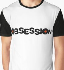 Vinyl Obsession Music Lovers Graphic T-Shirt