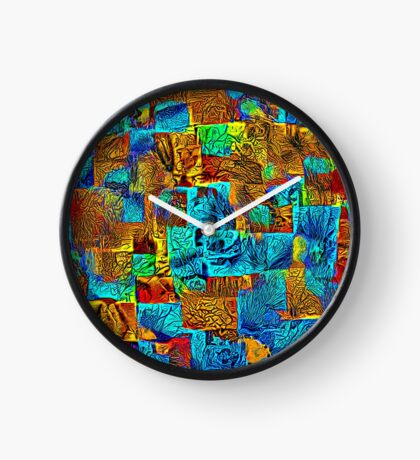 Dark energy streams Clock