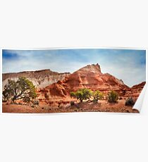 Kodachrome Park colorful desert beauty in spring. Poster