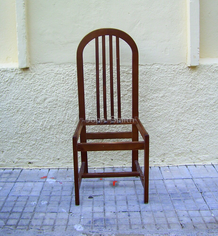Chair Frame (1) by John  Smith