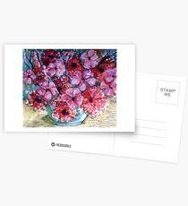 Spring blooms Postcards