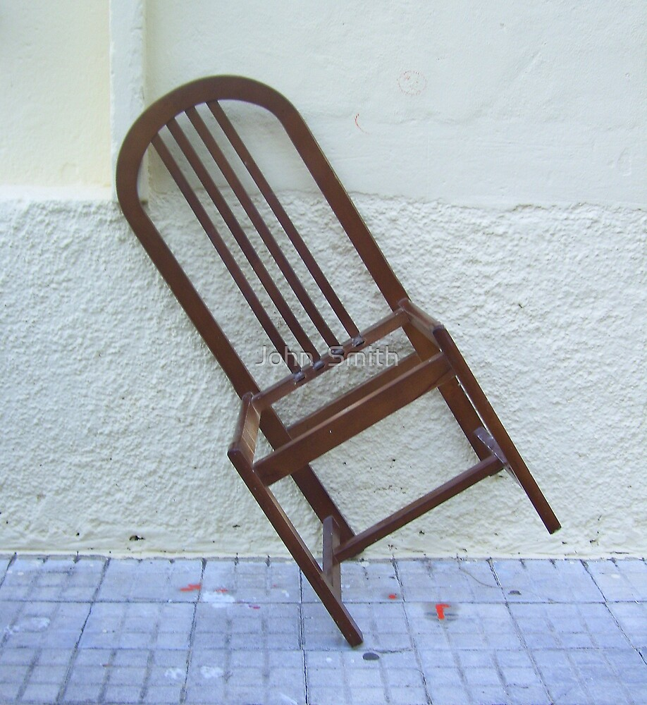 Chair Frame (2) by John  Smith