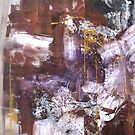 New Year's Gift, Original abstract painting by Dmitri Matkovsky