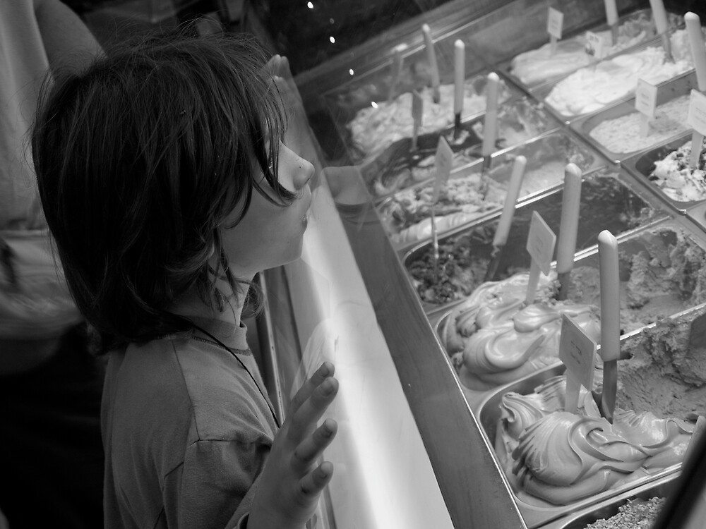 Choosing ice cream by MichaelBr