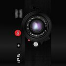 Like-a-Leica Camera (Black) iPhone Case by abinning