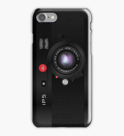 Like-a-Leica Camera (Black) iPhone Case iPhone Case/Skin