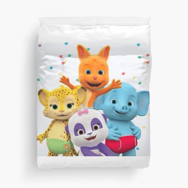 Word Party - Kids Tv Show Duvet Cover