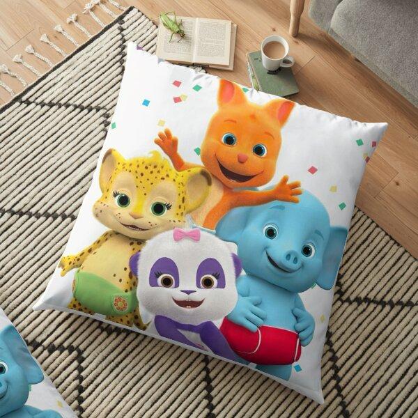 Word Party - Kids Tv Show Floor Pillow