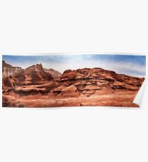 The hiking trail at Kodachrome Park, Utah Poster