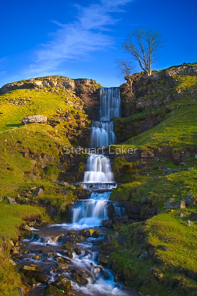 Cray Four Tier Waterfall by Stewart Laker