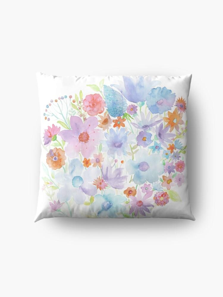 Alternate view of Spring in my heart Floor Pillow