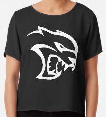 Hellcat Logo Chiffon Top