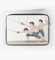 A Study In Fencing Laptop Sleeve
