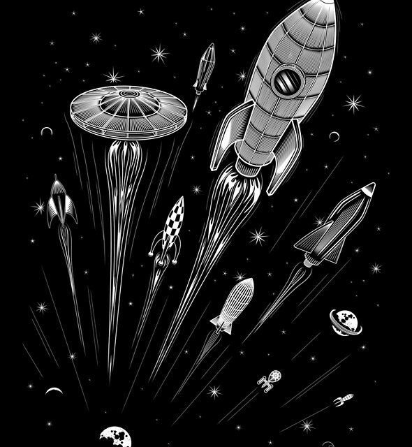 Space Race by heavyhand