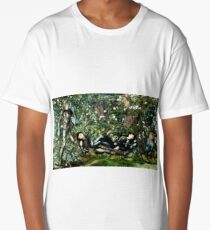 The Knights and the Briar Rose Burn Jones Long T-Shirt