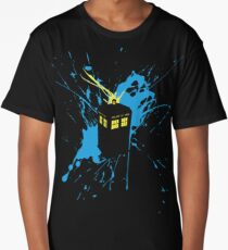 TARDIS Splash Long T-Shirt