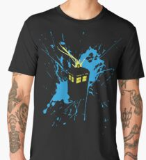 TARDIS Splash Men's Premium T-Shirt
