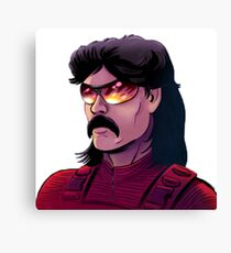 Dr DisRespect on Twitch tv Canvas Print