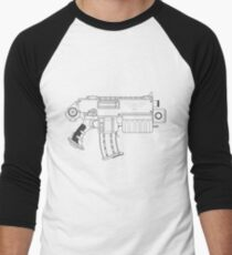 Space Marine Bolter Men's Baseball ¾ T-Shirt