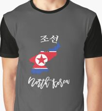 North Korea Graphic T-Shirt