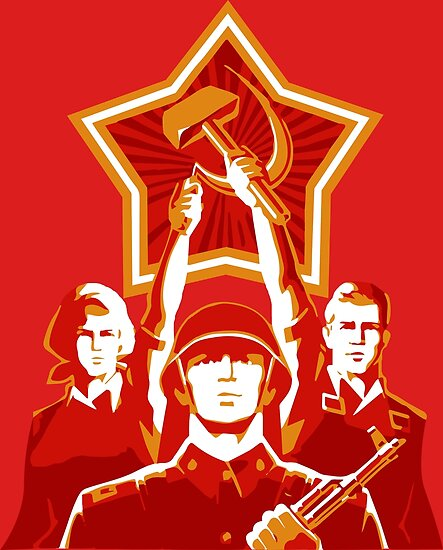 soviet propaganda posters by dipardiou redbubble