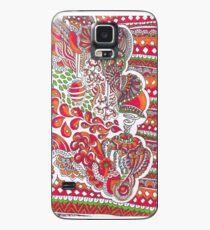 Deep Orange Case/Skin for Samsung Galaxy