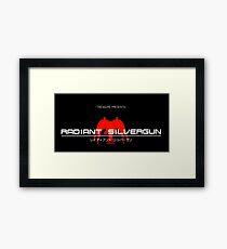 Radiant Silvergun Framed Print