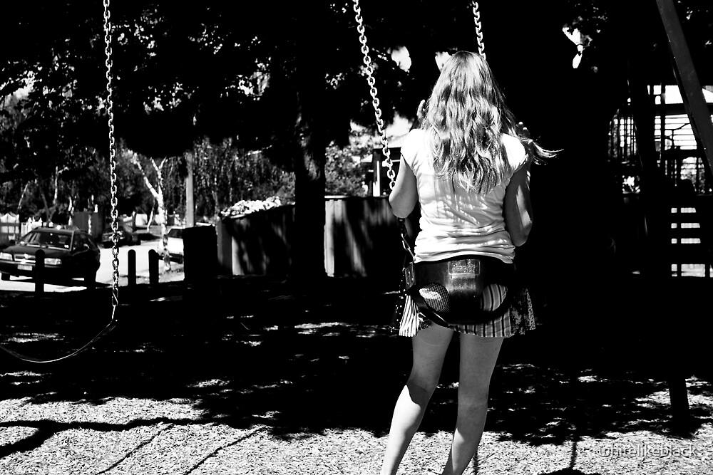 Park life: swinging by whitelikeblack
