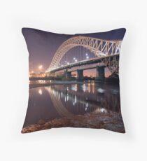 The silver jubilee bridge  Throw Pillow