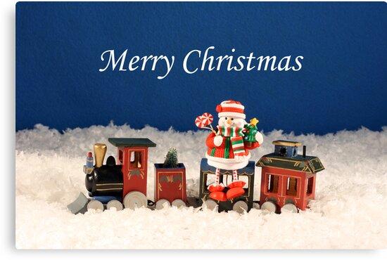 Christmas Express Train by Sheryl Kasper