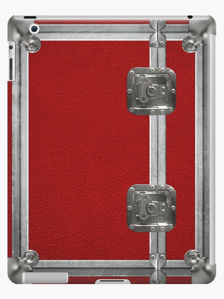Flightcase (Red) iPad Case by abinning