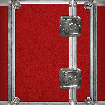 Flightcase (Red) iPad Case by abinning