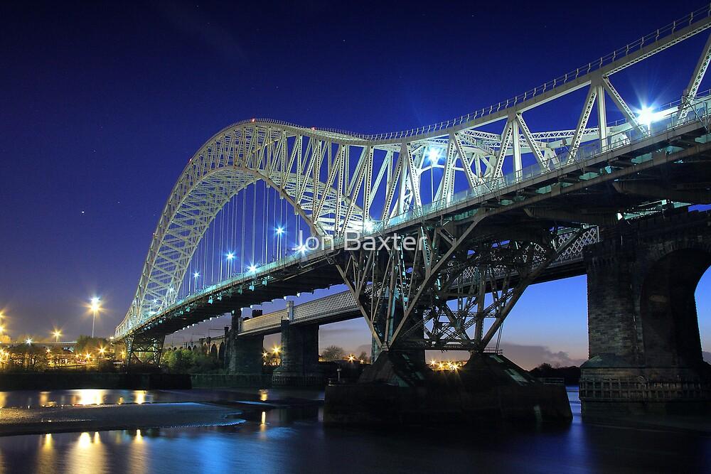 Blue bridge  by Jon Baxter