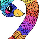 Colourful Bird Number 9 by Shelly Still