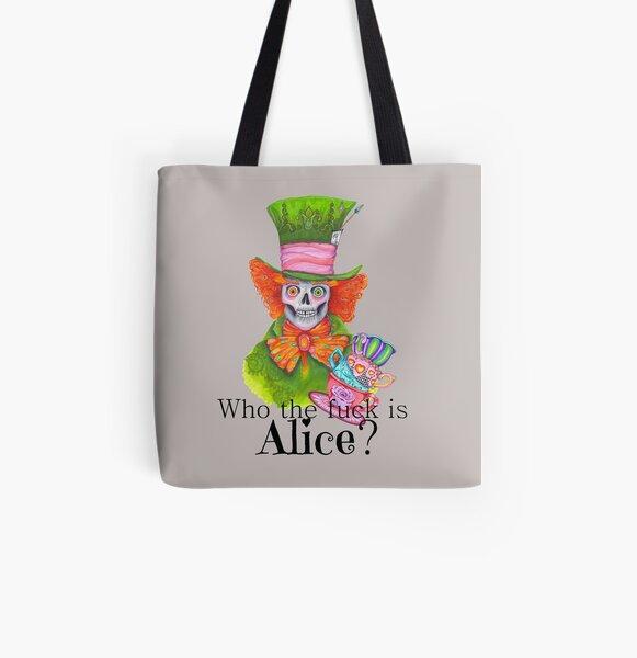 Mad Eddy Allover-Print Tote Bag