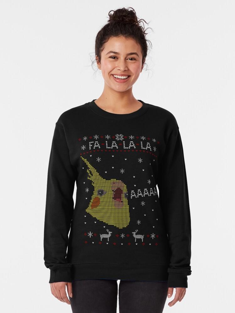 Alternate view of FA LA LA LA - AAAAAAAAAAAAAAAA Pullover Sweatshirt
