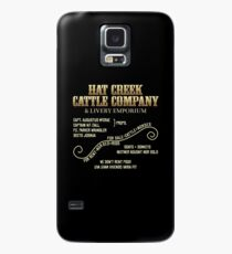 Hat Creek Cattle Company Sign Case/Skin for Samsung Galaxy