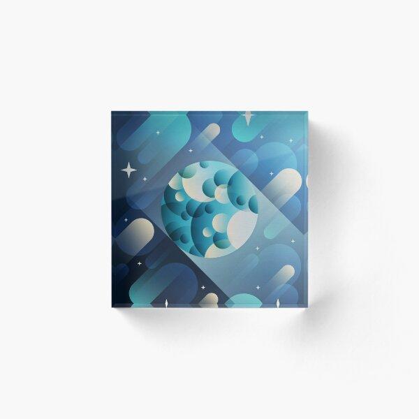 Mercury Acrylic Block