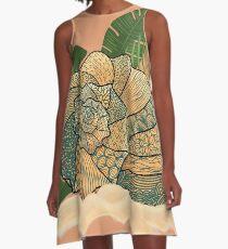 Seashell pattern A-Line Dress