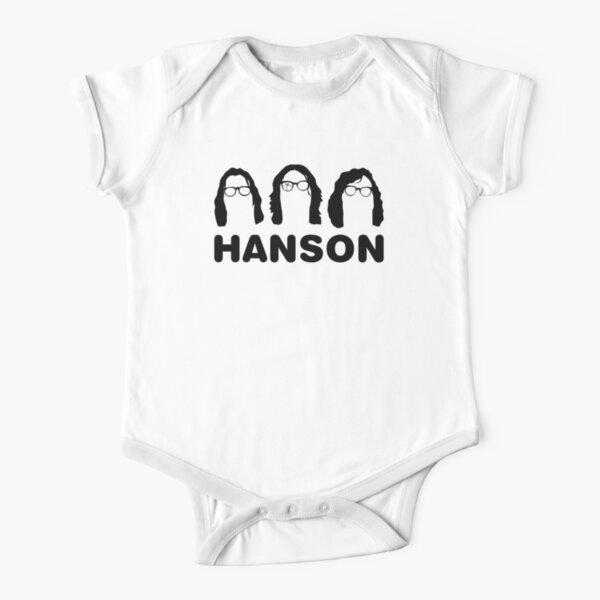 Hanson - The Slap Shot ones. Short Sleeve Baby One-Piece