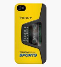 Phony Talkman iPhone Case (Sony Walkman Sports style) iPhone 4s/4 Case