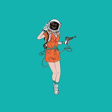 ASTROWOMAN 2 by snevi